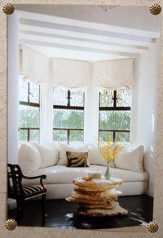 bay window seat ideas home decor family living rooms living room rh pinterest com