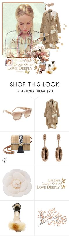 """**EARTH COLORS TREND**"" by mercanici ❤ liked on Polyvore featuring STELLA McCARTNEY, Stella & Dot, Carla Amorim, Chanel, Brother Vellies and Martha Stewart"