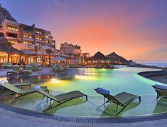 """MEXICO - """"Six Spas that Scored a Perfect 100 in Our Readers' Poll Capella Pedregal, Cabo San Lucas, Baja California Mexico , 5 Star Resort Cabo San Lucas Mexico, Best Resorts, Hotels And Resorts, Luxury Resorts, Luxury Pools, Dream Vacations, Vacation Spots, Los Cabos Baja California, California Sunset"""