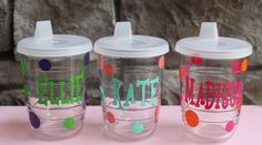 Personalized Sippy Tervis Tumbler 1 by GameDayGirlsandGifts, $13.00