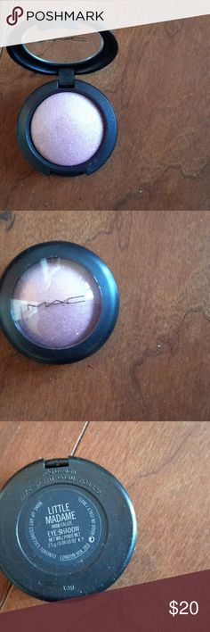 MAC Cosmetics Little Madam Eye Shadow MAC Cosmetics Little Madam Eye Shadow. Mauve color with gold iridescent. New, never used. MAC Cosmetics Makeup Eyeshadow