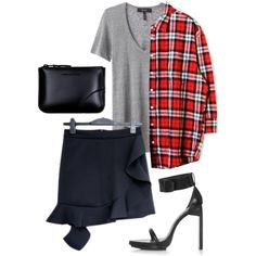 Outfit #plaid #isabelmarant