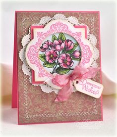 Circle of Love card designed by Debbie Olson.