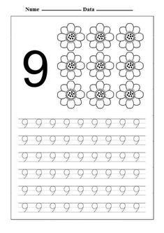 These preschool math worksheets will set young learners up for success with key math skills, such as counting, addition and subtraction. Teaching Numbers, Numbers Kindergarten, Numbers Preschool, Kindergarten Math Worksheets, Preschool Letters, Homeschool Kindergarten, Preschool Math, Math Literacy, Printable Math Worksheets