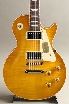 Gibson Custom Shop Standard Historic 1958 Les Paul Reissue Gloss Lemon Burst