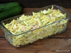 Sałatka szwajcarska Salad Recipes, Dessert Recipes, Happy Foods, Polish Recipes, Fruit Snacks, Kraut, Potato Salad, Cabbage, Appetizers