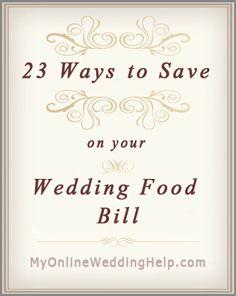 23 Ideas for Saving on Wedding Food- food truck is an idea