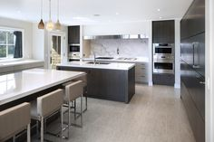 Bridgehampton Kitchen  Kitchen  Contemporary  Modern by St Charles of New York
