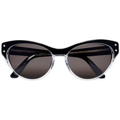 Selima Optique for Pamela Love Black Allison Sunglasses ($375) ❤ liked on Polyvore featuring accessories, eyewear, sunglasses, black, black cat eye sunglasses, star sunglasses, star glasses, cat eye sunglasses and cateye sunglasses