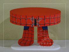 bandeja/suporte p/ doces homem aranha