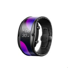 Nubia Alpha Flexible Smart Watch | Shop For Gamers Smart Watch Shop, Smart Watch Brands, Home Technology, Technology Gadgets, Flexible Display, Phone 4, Fossil Watches, Fitness Tracker, Bluetooth
