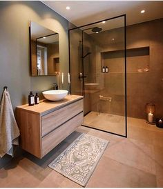 44 magnificient scandinavian bathroom design ideas that looks cool – Bathroom Inspiration Scandinavian Bathroom Design Ideas, Modern Bathroom Design, Bathroom Interior Design, Bath Design, Key Design, Toilet And Bathroom Design, Bathroom Vinyl, Open Bathroom, Brown Bathroom