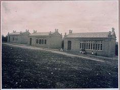 Escuelas Bosque en la Dehesa de la Villa (Foto: J. Lacoste, primer cuarto S. XX; Memoria de Madrid)