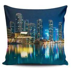Cojin Decorativo Tayrona Store Ciudad Nocturna 44 - $ 43.900