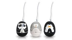 Animal Toothbrush Sanitizer. Eliminates up to 99.9% of germs with ultraviolet light. #owl #panda #penquin