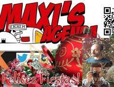 Feliz año nuevo para tod@s desde el equipo de Maxi's Agenda
