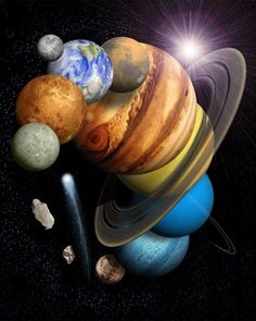 ♥ The solar system