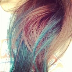 (In case it doesn't just come out) Heres how to remove a kool aid dip dye job: Boil 2-3 cups if water. When it starts boiling add 1/2 cup of baking soda. Let cool for a few minutes and dip hair in. The water should slowly begin to look the color of the dye. Once the color is out, shampoo and condition hair thoroughly.  Note that the hair is very tangly and dry so condition a few times.