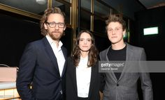 Tom Hiddleston, Stacy Martin, and George MacKay at BAFTA Breakthrough Brits Celebration 2018 Stacy Martin, George Mackay, Tom S, Tom Hiddleston Loki, Praise The Lords, Hot Guys, Beautiful People, Actors, Celebrities