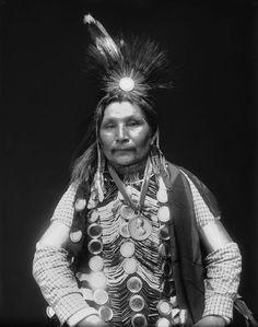 William Potter ~ 1911  Chippewa (Ojibwe, Ojibwa or Ojibway) Tribe ~   Canada & United States