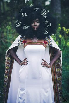 "milkdromeduh: "" divalocity: "" Défilé Natural Flower - Natural Hair Academy 2016 Artistic Direction & HairStyles : DydyNaturalHairLover Assistant Hair : KrazyHair Afro Wig Designer : Séphora Joannes MakeUp Artists : Jay Asani & Gaëlle Make Up..."