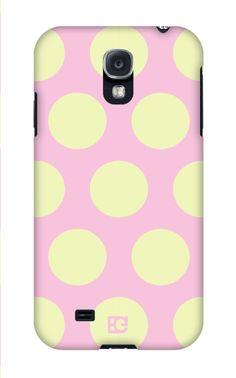 Haleybee Polka Dots Samsung Galaxy case