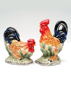 Take a look at this Black Rooster Salt & Pepper Shakers today!