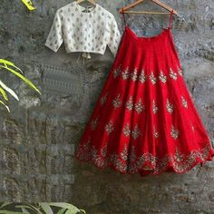 Looking for a lehenga to wear at the wedding? Then check out these 40 trending Groom sister outfits. Indian Gowns, Indian Attire, Indian Ethnic Wear, Indian Outfits, Indian Style, Indian Clothes, Half Saree Designs, Lehenga Designs, Blouse Designs