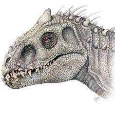 Indominus Rex drawing by @juliannamaston. #jurassicworld #indominusrex #draw…