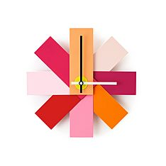 normann copenhagen watch me clock pink - LOVE