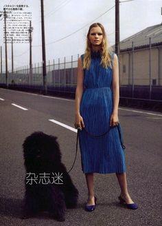 Tereza Smejkalova for Madame Figaro Japan September 2015
