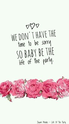 Shawn Mendes - Life of The Party Music, lyrics, wallpapers, roses.