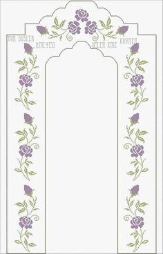 Cross Stitch Heart, Cross Stitch Borders, Cross Stitch Flowers, Cross Stitch Designs, Cross Stitching, Cross Stitch Patterns, Hand Embroidery Art, Embroidery Designs, Cross Stitch Embroidery