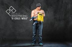 Dads Pose With Their Babies In A New Breastfeeding Awareness Campaign Pose, Nursing Mother, Awareness Campaign, Best Ads, Family Humor, Baby Gender, Family Affair, Shirtless Men, Breastfeeding