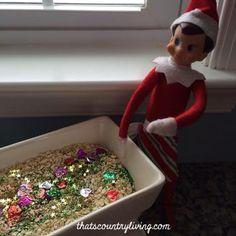 Elf on the Shelf Magic Christmas Garden m Christmas Garden, Christmas Toys, All Things Christmas, Elf Ideas Easy, Awesome Elf On The Shelf Ideas, Birthday Decorations, Christmas Decorations, Holiday Decor, Holiday Ideas