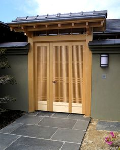 See a beautifully designed and crafted Japanese-style entrance gate and Japanese-style sliding front door located in Tiburon, CA on our website.