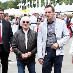 Bernie Ecclestone is spotted at the Goodwood Festival of Speed