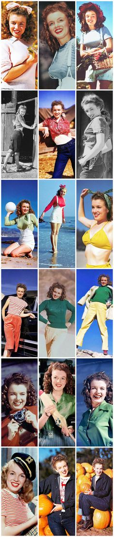 Marilyn Monroe (Norma Jeane): Iconic early images of the Hollywood actress / sex symbol …. #marilynmonroe #pinup #monroe #normajeane #iconic #sexsymbol #hollywoodlegend #hollywoodactress
