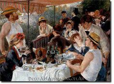 Renoir   The Luncheon of the Boating Party - Direct Art Australia.  www.directartaustralia.com.au/