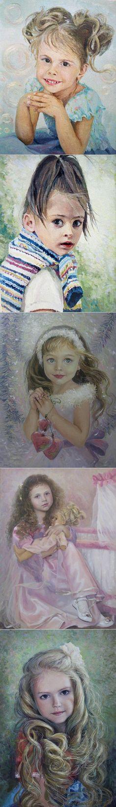 Маленькая девочка, как ты хороша... / Детский образ в работах художника Владими | искусство | Постила