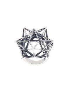 John Brevard framework star ring