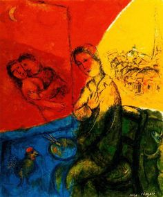 Marc Chagall ~ Peintre learn more on… Marc Chagall, Henri Matisse, French Artists, Art Reproductions, Fauvism, Les Oeuvres, Painting & Drawing, Art History, Buy Art