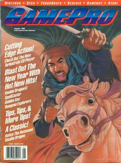 Looking for information on GamePro Issue 6 from January Read more about this magazine at Retromags! Gaming Magazines, Video Game Magazines, Classic Video Games, My Magazine, School Games, All Games, Drawing Stuff, I Am Game, Videogames
