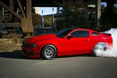 Andy Howard is quickly moving in on the 7s with his 2013 Mustang GT