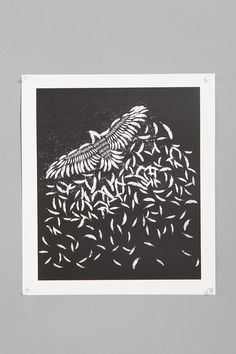 UrbanOutfitters.com > Resistance For Society6 Of A Feather Print
