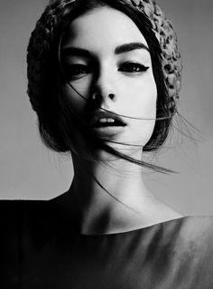 Strangely compelling, Model - Eszter Boldov Photography - Damon Baker...