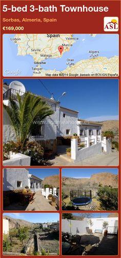 5-bed 3-bath Townhouse in Sorbas, Almeria, Spain ►€169,000 #PropertyForSaleInSpain