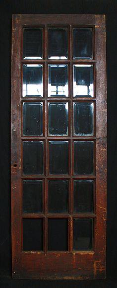 36x95 antique exterior entry pine door large wavy glass lite 30x 84 antique interior exterior entry by pennantiquerestore planetlyrics Gallery
