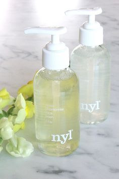 #nylskincare Chamomile Face Wash and Rosewater Face Wash #vegan #crueltyfree #skincare