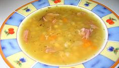 Soupe aux pois campagnarde Winter Dishes, Soup Appetizers, Soup And Salad, Cheeseburger Chowder, Soup Recipes, Yummy Food, Favorite Recipes, Salads, Pea Soup